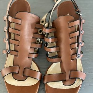 Guaranteed authentic Paul Andrew leather sandals